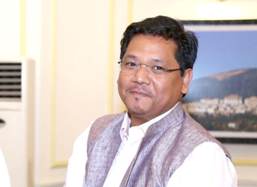 Conrad K Sangma. (File Photo: IANS)