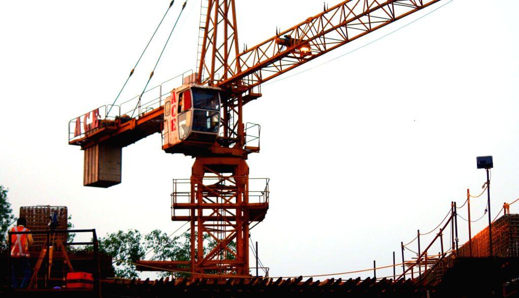 Construction site. (File Photo: IANS)