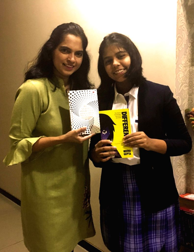 Content specialist and human rights evangelist Reeta Gupta along with her daughter, Neeha Gupta. - Reeta Gupta and Neeha Gupta