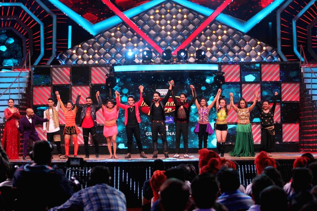 Contestants during the Grand Finale of dance reality show Dance India Dance Season 6 in Mumbai on Feb 17, 2018.