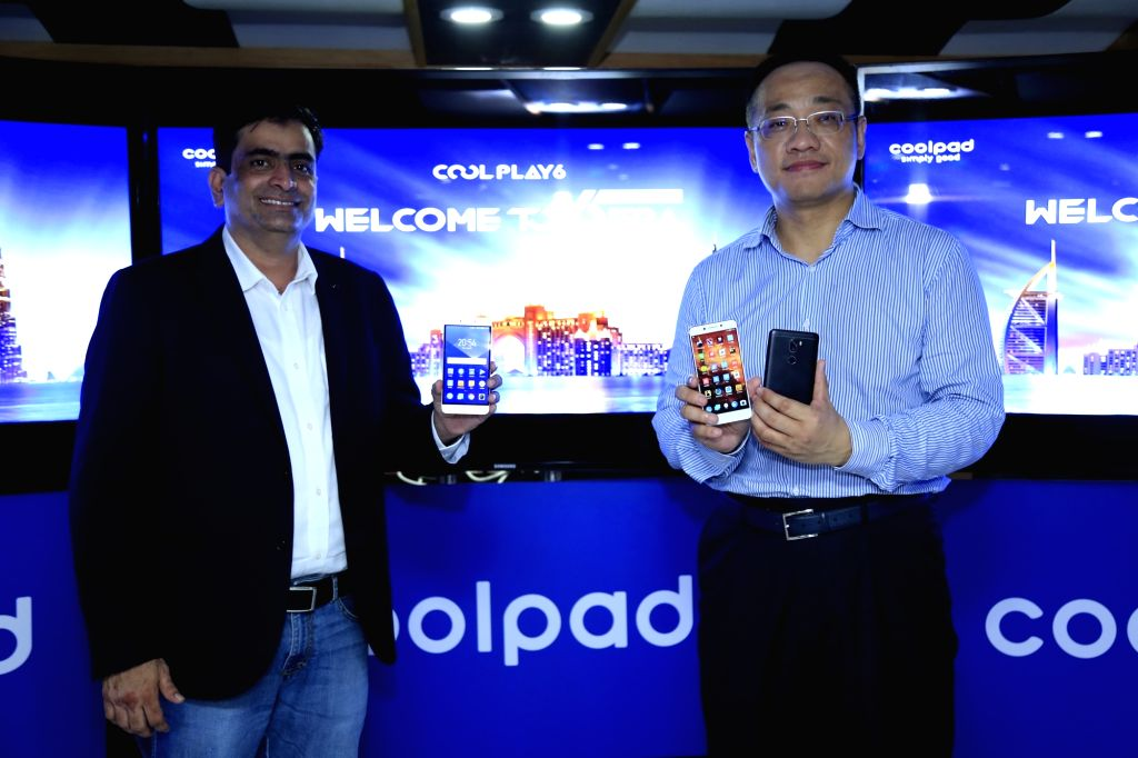 Coolpad India CEO *Syed Tajuddin *during the launch of Coolpad Cool Play 6 in Dubai on Aug. 20, 2017. Cool Play 6 smartphone is powered by 1.4Ghz Octa-core Qualcomm Snapdragon 653 processor ...