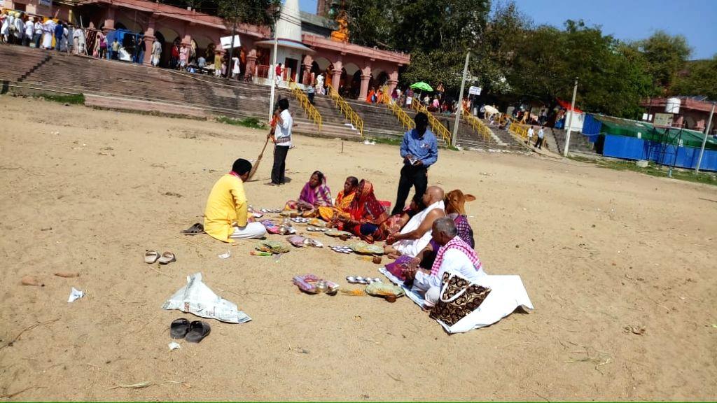 Corona eclipses Pitrapaksh rituals.