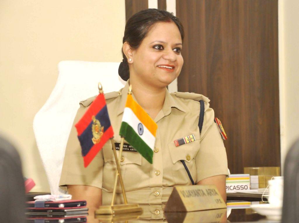 Corona warrior woman IPS DCP Vijayanta Arya. (Photo: Sanjeev Kumar Singh Chauhan)