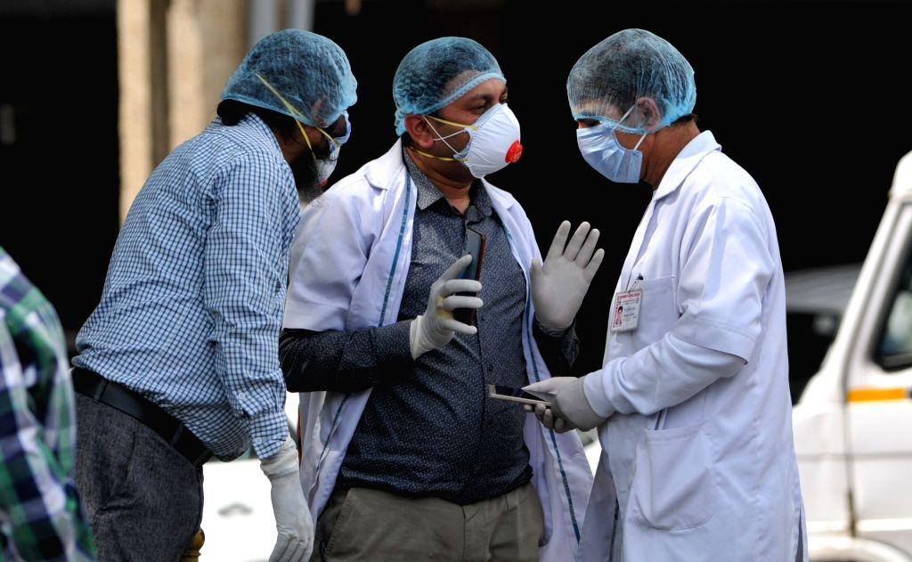 Coronavirus, India, Jammu and Kashmir. (Photo: Xinhua/IANS )