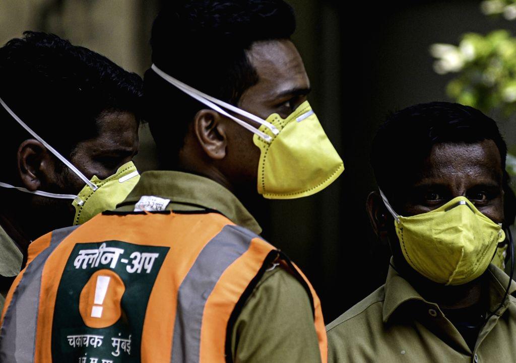 Coronavirus, India, Mumbai.  (Photo: IANS/Xinhua)