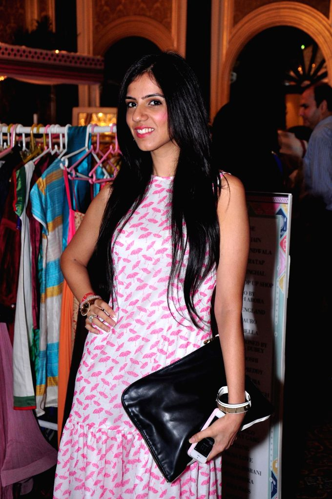 Costume designer Neeta Lulla during ELLE Carnival for a Cause 2014 event in Mumbai on 18 May 2014.
