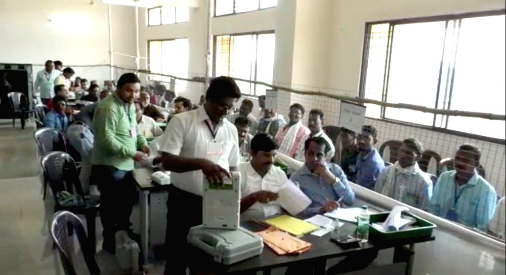 Counting of votes for Tamil Nadu's Vellore Lok Sabha seat was underway on Friday. (Photo: IANS)