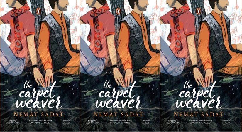 """Cover art """"The Carpet Weaver""""."""