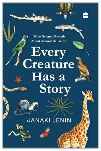 """Cover of the book """"Every Creature Has a Story""""."""