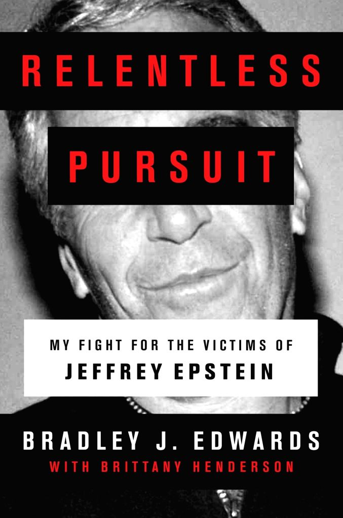 "Cover of the book ""Relentless Pursuit""."