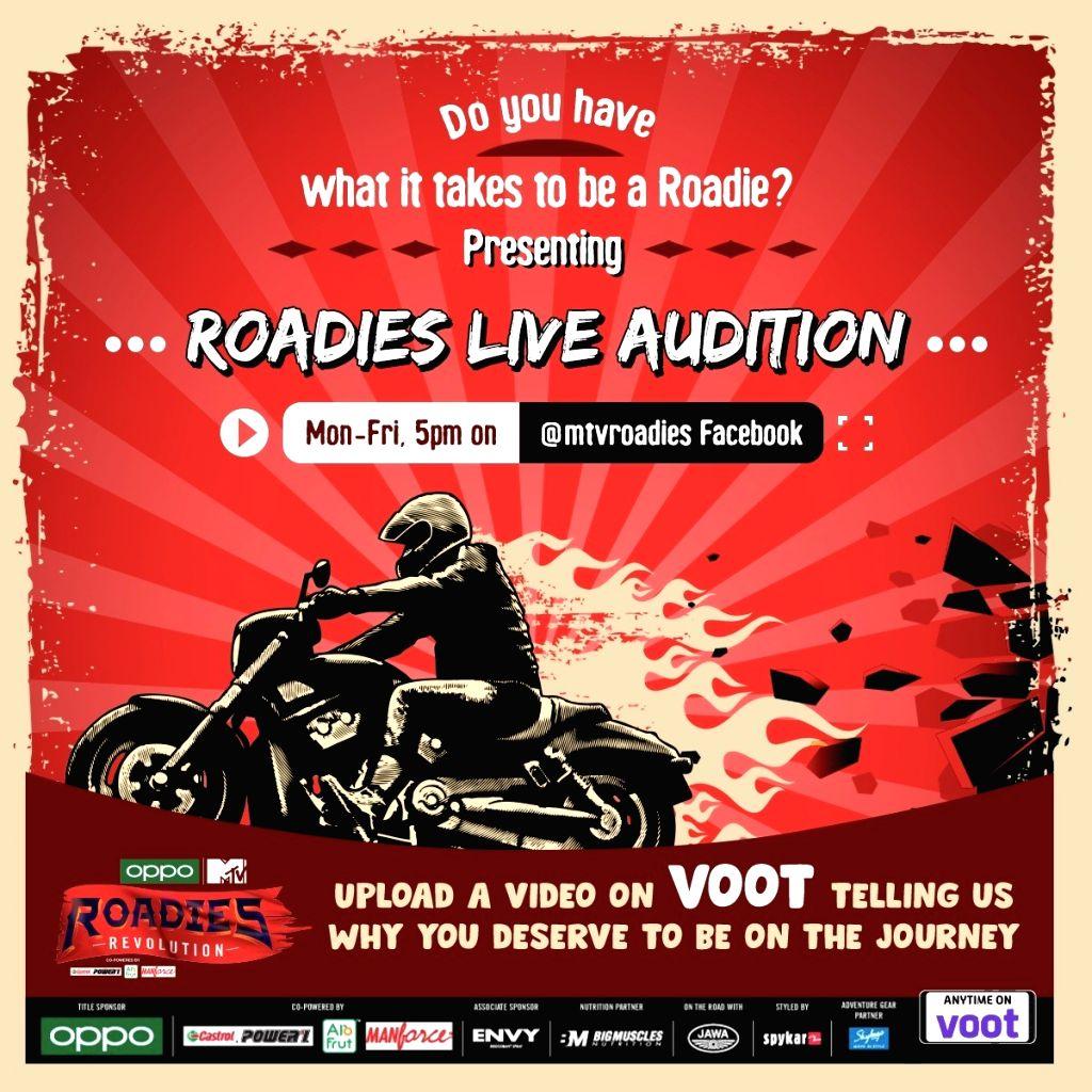 COVID-19 effect: 'Roadies Revolution' auditions go virtual.