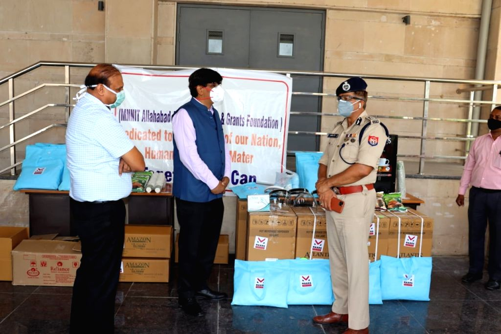 Covid-19: Police Commissioner praises the work of NGO Marg