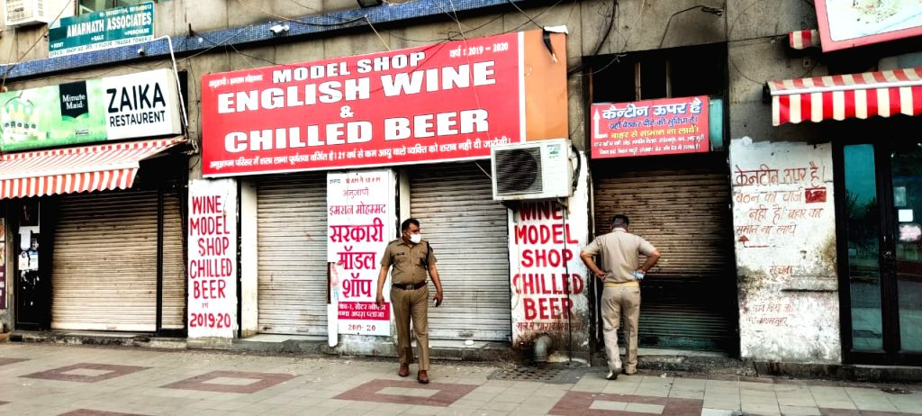Covid 19: Raid to prevent illegal liquor smuggling during lock down.