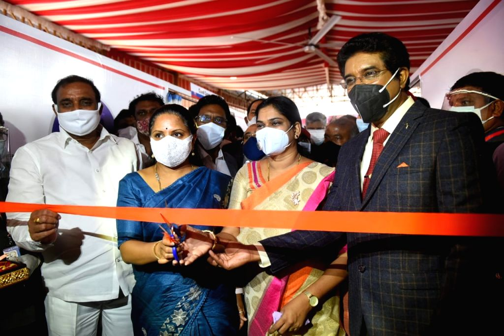 Covid isolation centre comes up at Hyderabad's Calvary Temple.