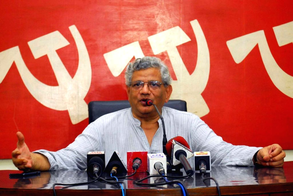 CPI(M) general secretary Sitaram Yechury. (File Photo: IANS) - Sitaram Yechury