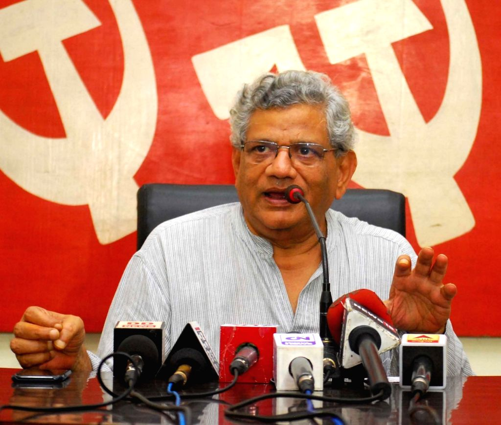 CPI(M) general secretary Sitaram Yechury. (File Photo: IANS) - Sitaram Yechury