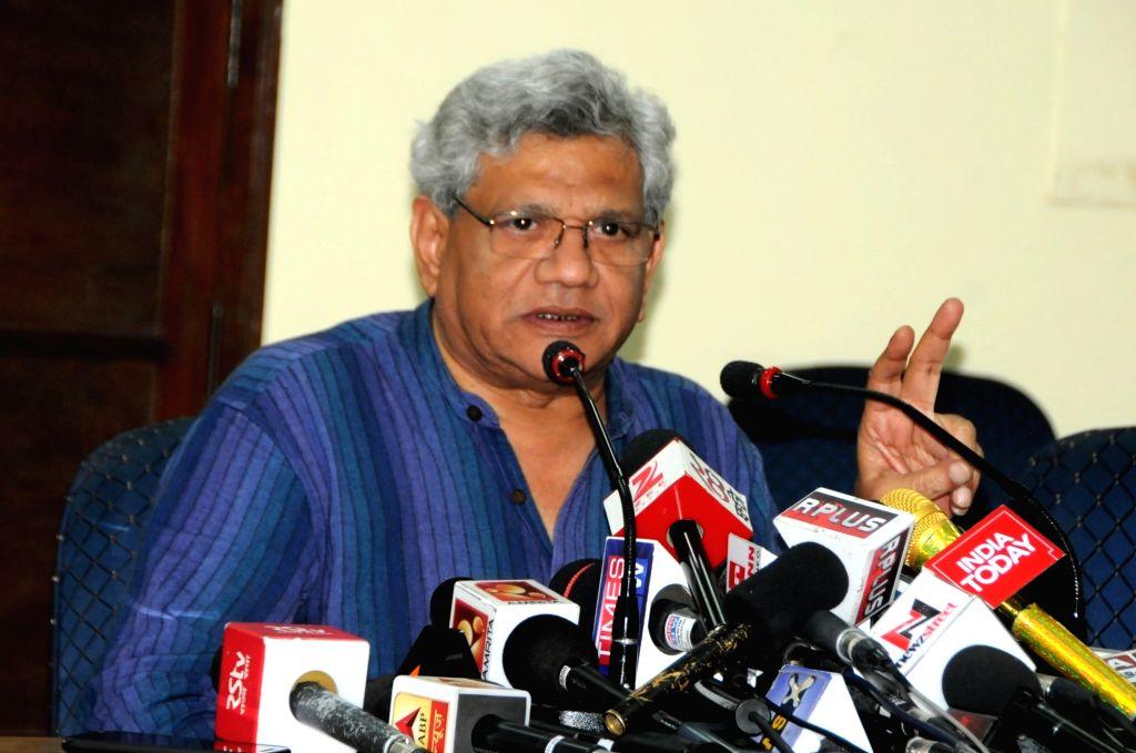 CPI-M General Secretary Sitaram Yechury. (File Photo: IANS) - Sitaram Yechury