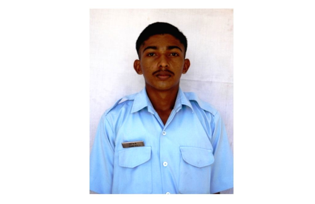 CPL Sharin NK one of the 13 persons who died in An-32 aircraft crash in Arunachal Pradesh on June 3.