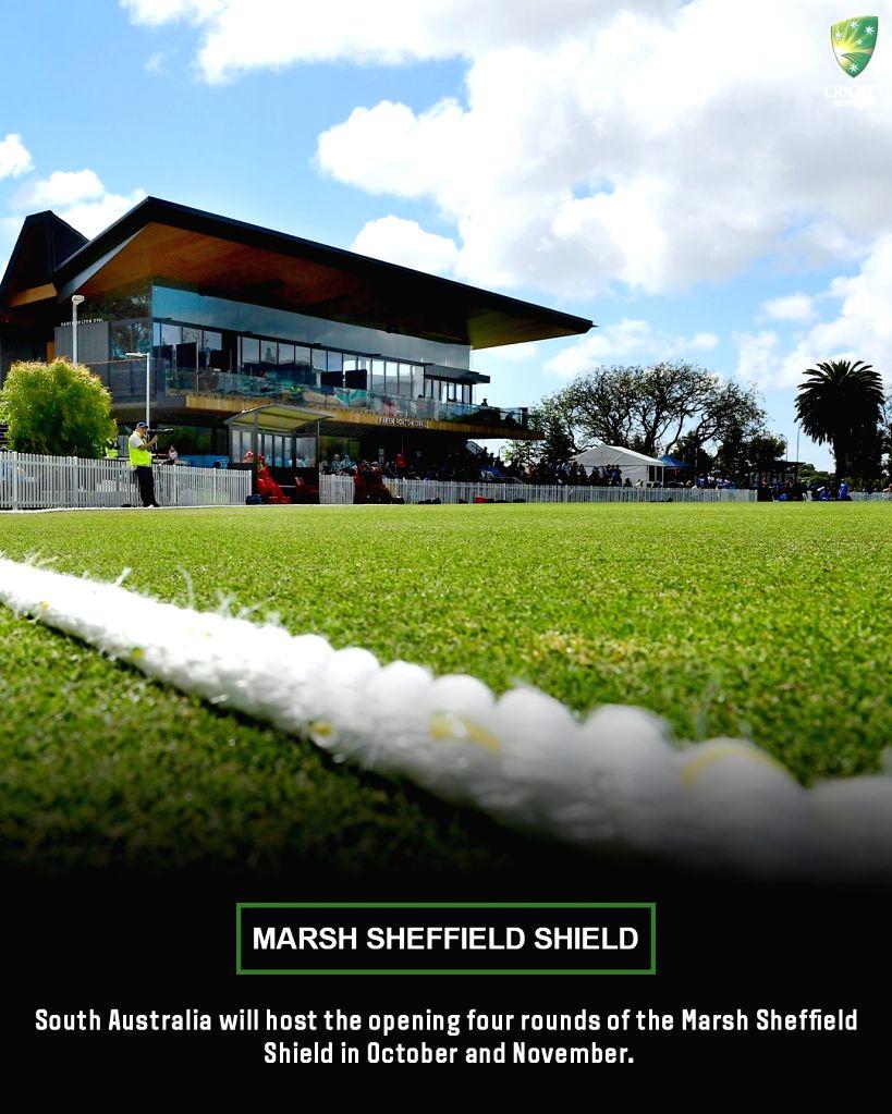 Cricket Australia confirms fixtures for Sheffield Shield Trophy