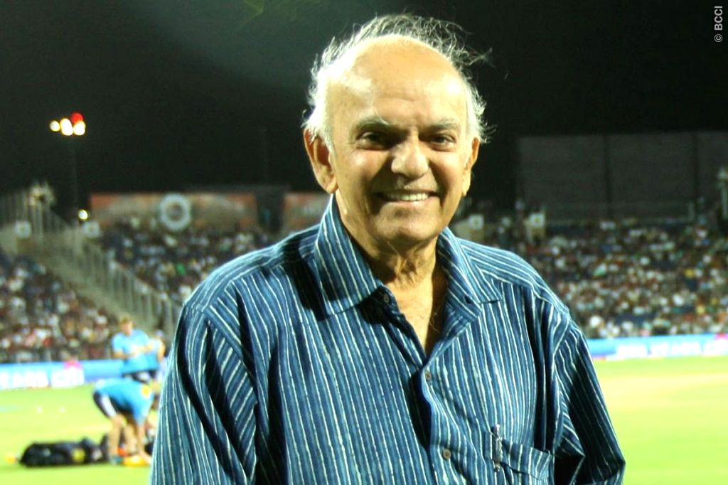 Cricket fraternity condoles demise of Madhav Apte.