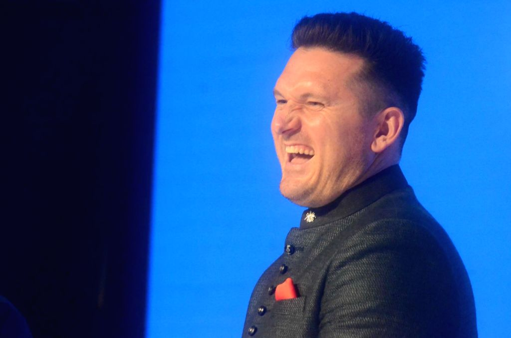 Cricketer Graeme Smith during Ceat cricket rating award 2017-18, in Mumbai on May 28, 2018.