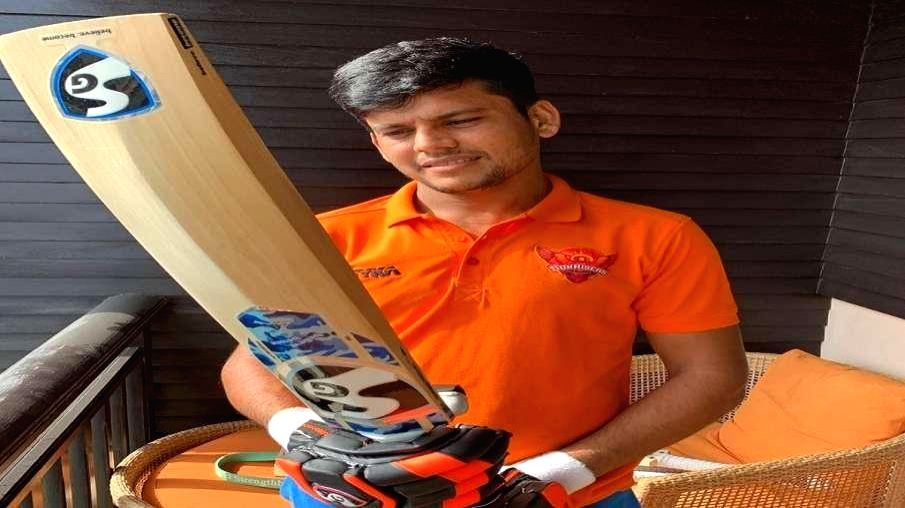 Cricketer Priyam Garg.