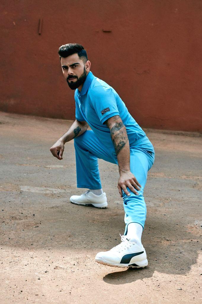 :Cricketer Virat Kohli..
