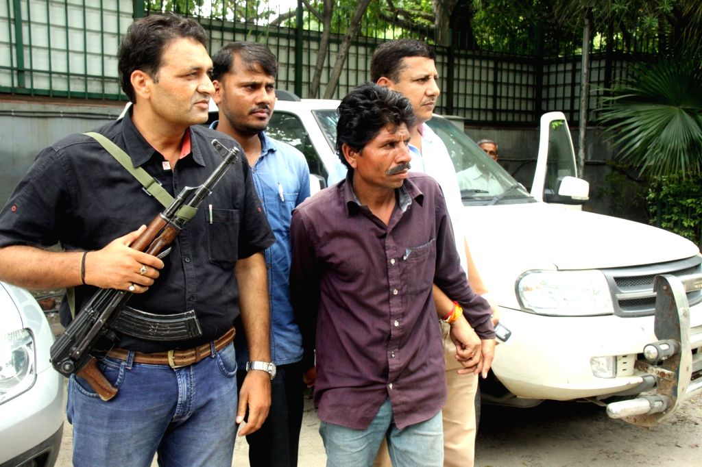 Crime branch officials busted an arms supply gang and arrested one person in New Delhi on Aug 12, 2017.