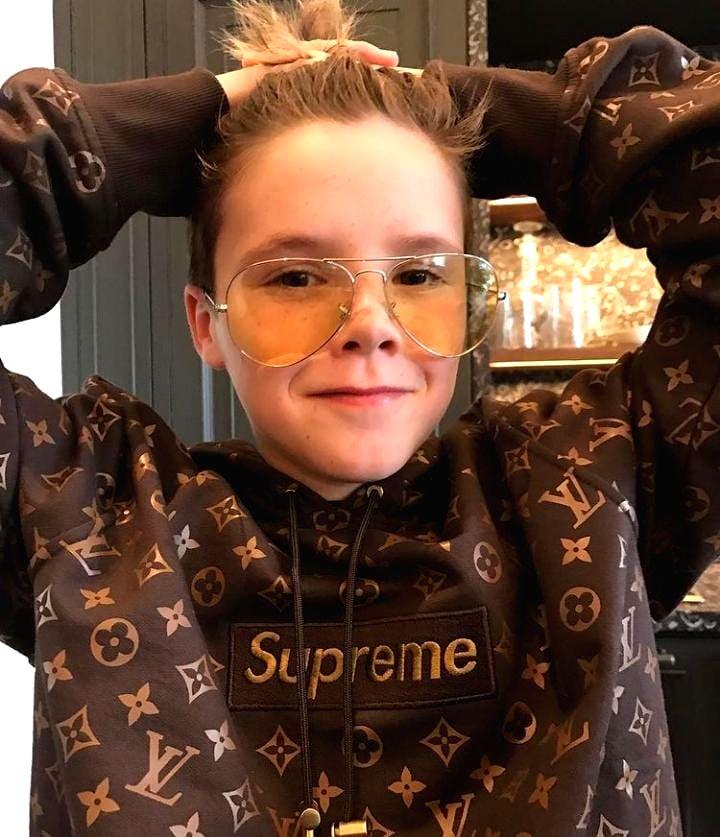 Cruz Beckham puts up a hoodie for $150, 000 auction