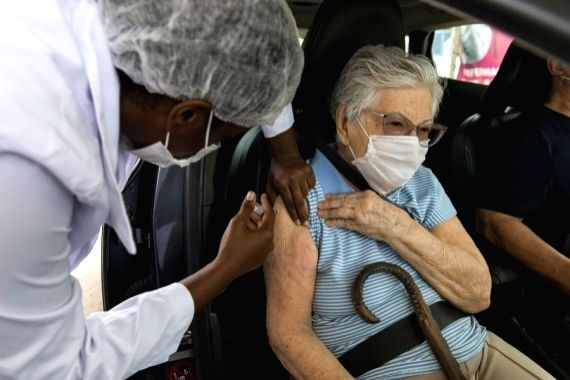 Cuba to vaccinate over half population against Covid by Aug. (Photo by Luciana Whitaker/Xinhua/IANS)
