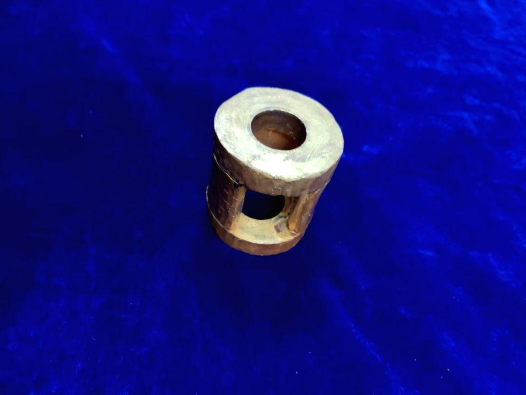 Customs seize 1.16 kg gold concealed inside a wrench.