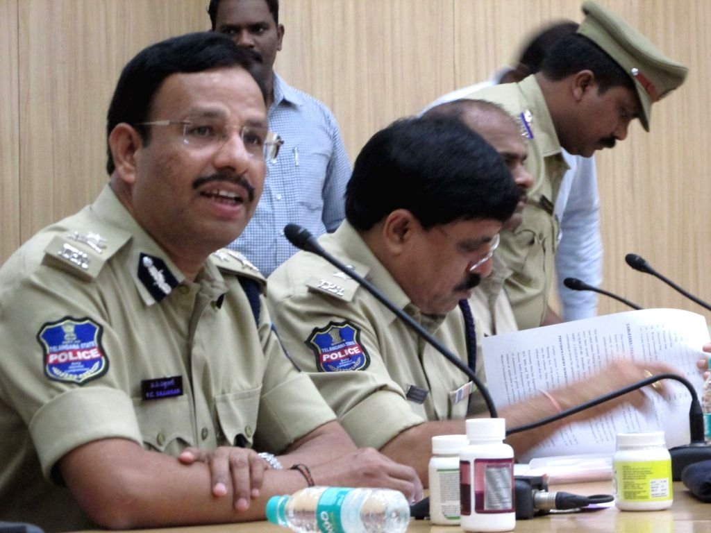 Cyberabad Commissioner V C Sajjanar. (Photo: IANS)