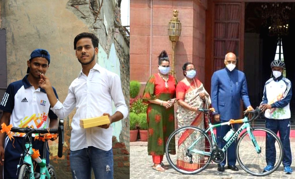 Cyclist who received bike from Prez unable to afford two-time meals.