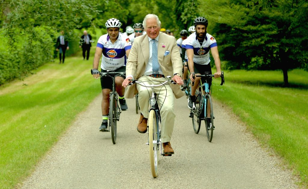Cyclists set to embark on epic royal adventure.