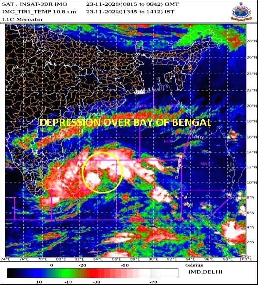 Cyclone Nivar: Modi dials TN & Puducherry CMs, assures support