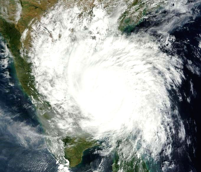 Cyclone. (Photo: IANS)