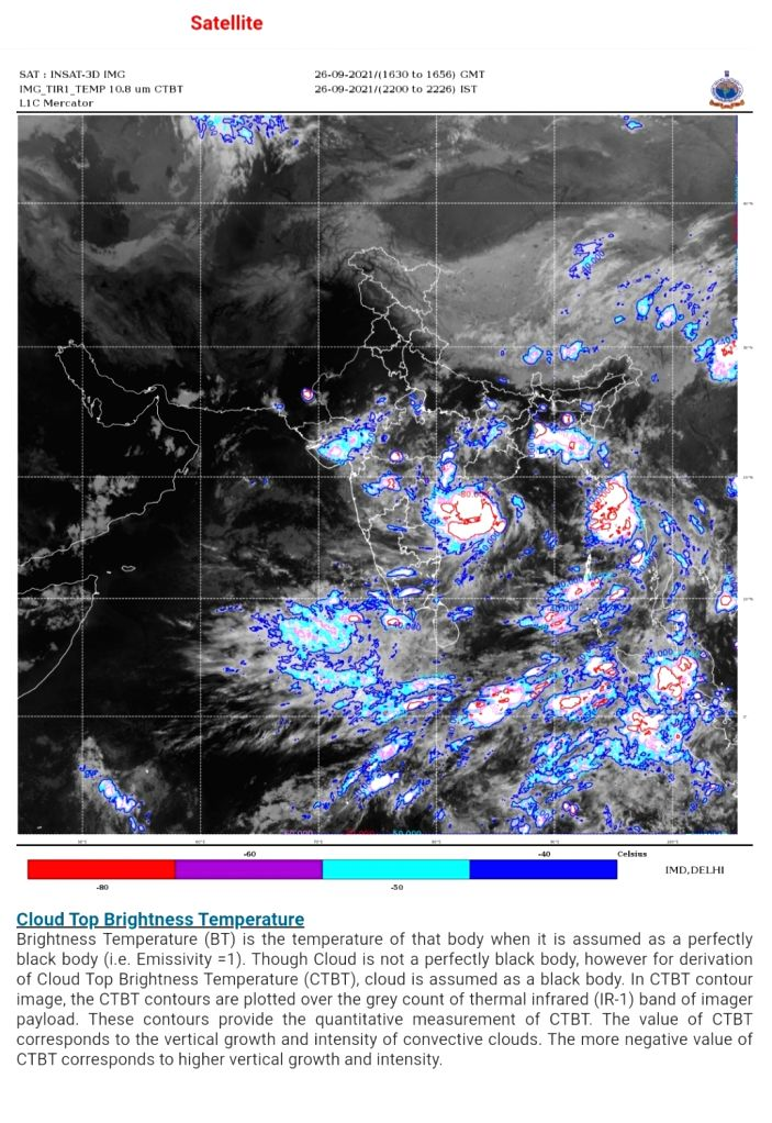 Cyclonic Storm Gulab landfall completed.