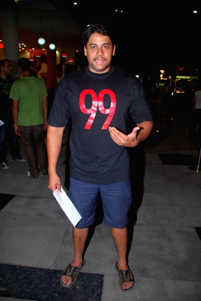 "Cyrus Broacha at special screening of movie ""99"" at PVR."