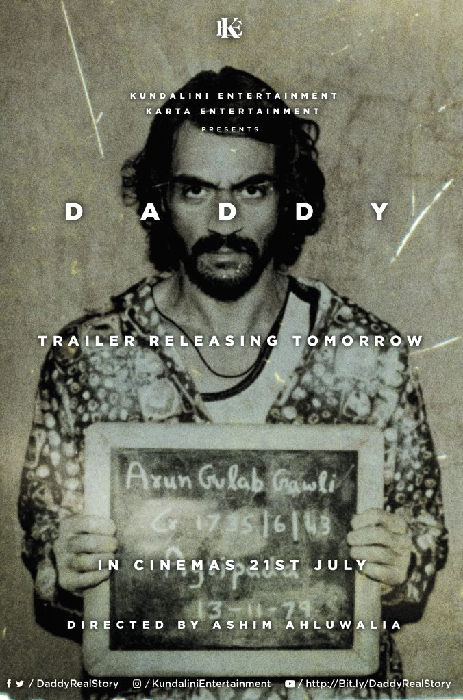 Daddy Poster- Release & Trailer Poster