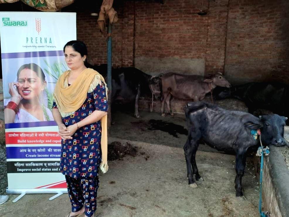 Dairy farm owner Baljinder Kaur. - Baljinder Kaur