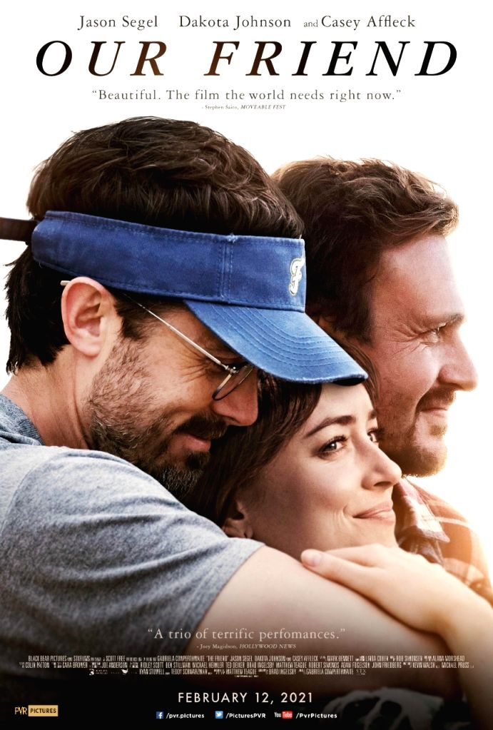 Dakota Johnson, Casey Affleck-starrer 'Our Friend' in Indian cinemas on Feb 12.