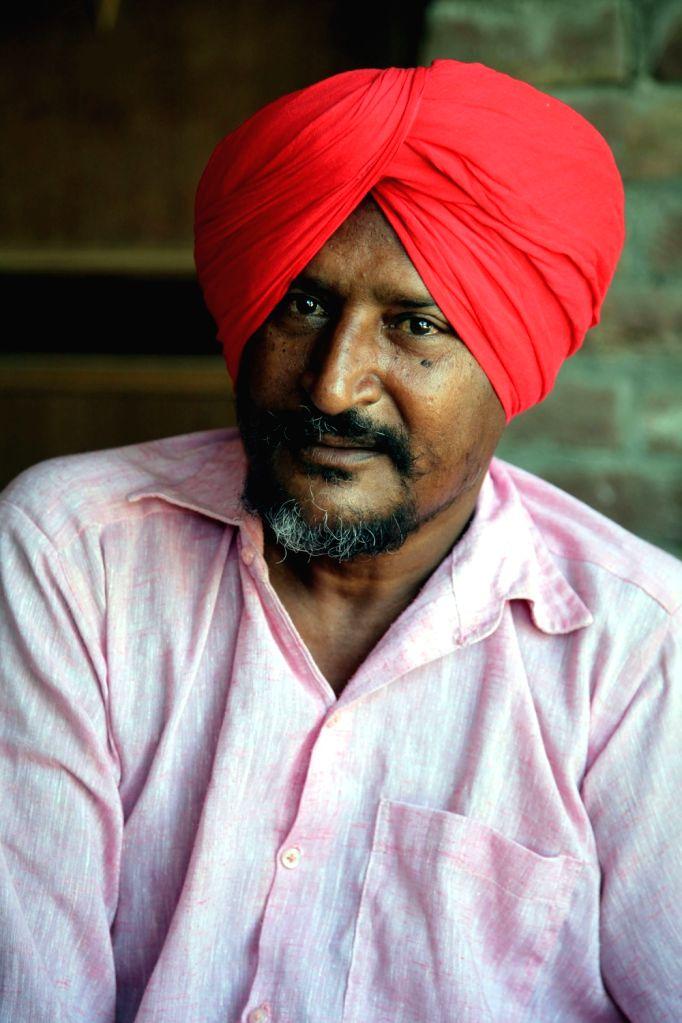 Dalit activist and singer Bant Singh. - Bant Singh
