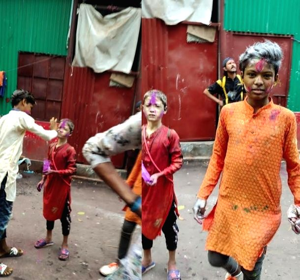 Dalits in B'desh celebrate 'postponed' Holi.
