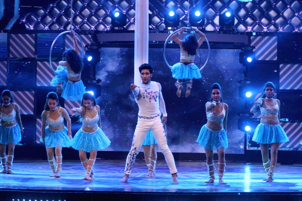 Dancer Mohena Singh performs during the Grand Finale of dance reality show Dance India Dance Season 6 in Mumbai on Feb 17, 2018. - Mohena Singh