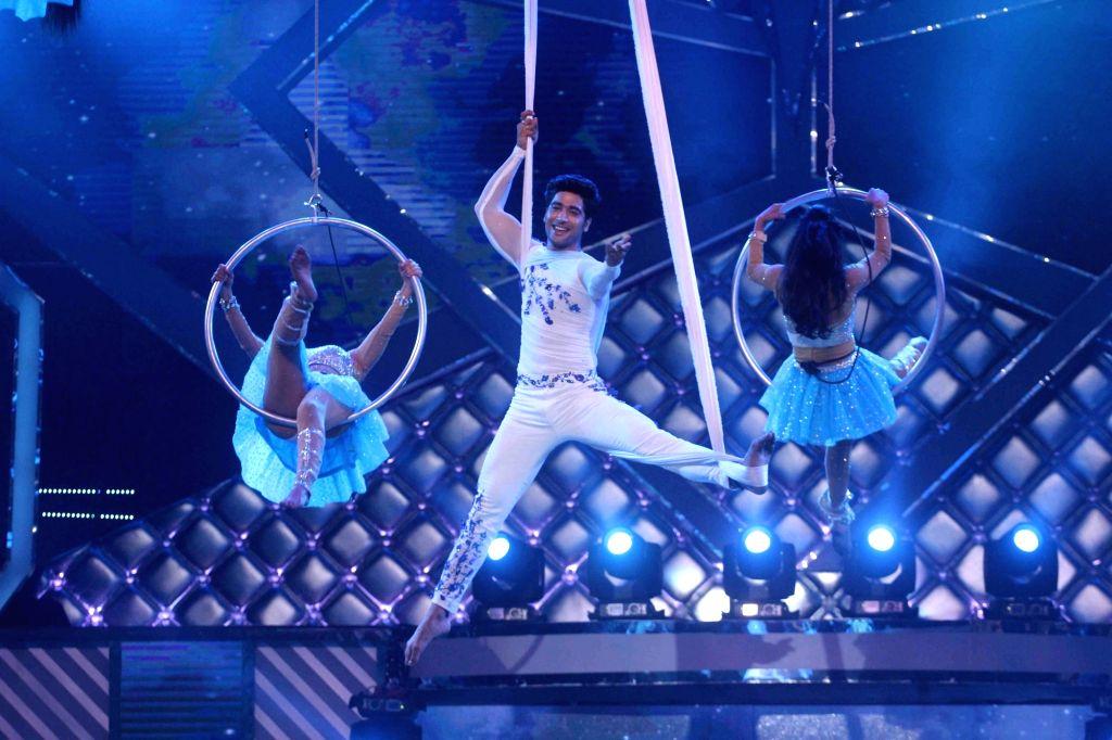 Dancer Sanam Johar performs during the Grand Finale of dance reality show Dance India Dance Season 6 in Mumbai on Feb 17, 2018.