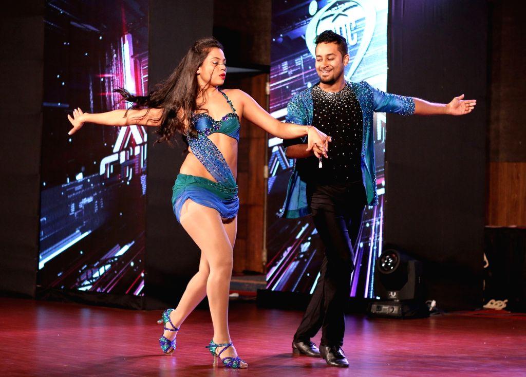 Dancers performing during India International Dance Congress 2017 in Bengaluru on July 6, 2017.