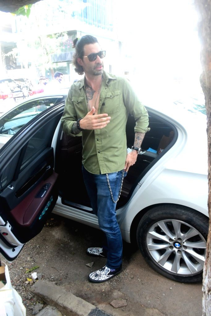 Daniel Weber spotted at foodhall in Bandra On Sunday, 30 May, 2021.