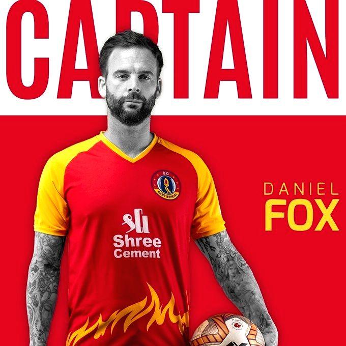 Danny Fox to lead SC East Bengal in debut ISL season.