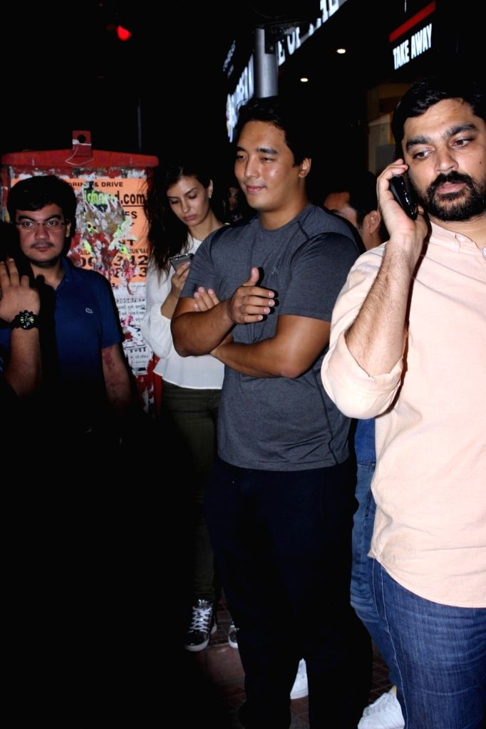 Danny Son Rinzing at Bastian Restaurant in Mumbai  on June 20, 2017.