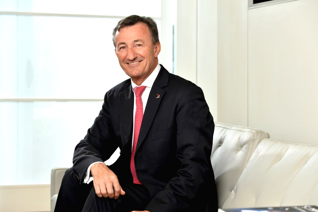 Dassault Systemes' Vice Chairman and CEO Bernard Charles.